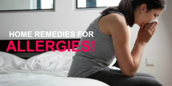 Home Remedies for Allergies!
