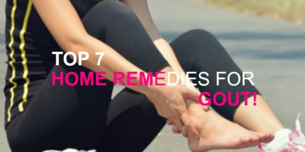 Top 7 Home Remedies for Gout!