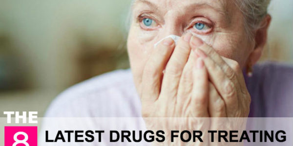 The 8 latest drugs for treating Alzheimer's disease!