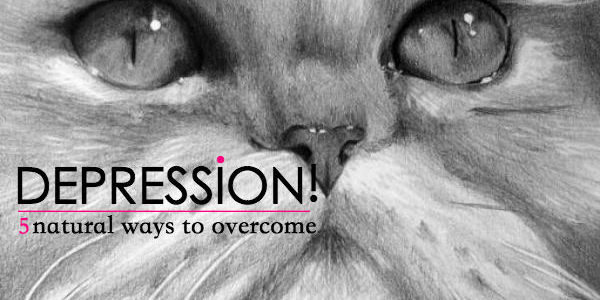 5 Natural Ways to Overcome Depression!