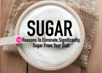 Reasons To Eliminate, Significantly, Sugar From Your Diet!