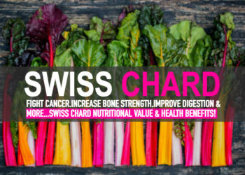 Swiss Chard Nutritional Value & Health Benefits!
