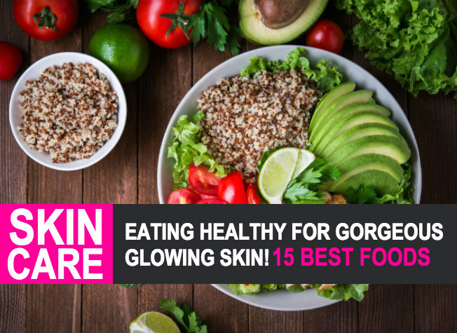 how to make skin healthy and glowing