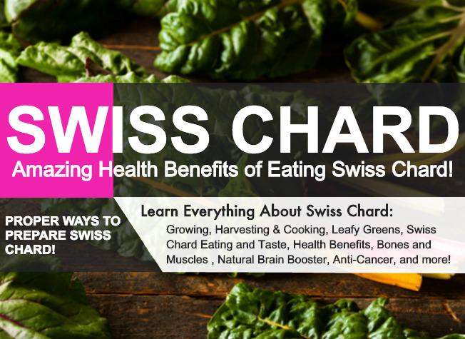 Health Benefits Of Eating Swiss Chard